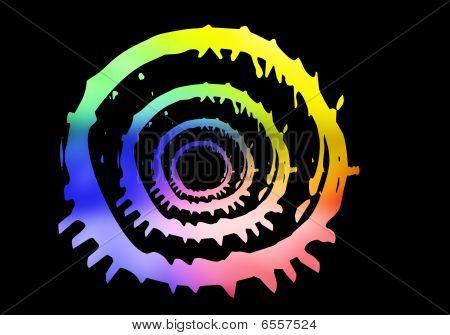 abstrakt Farbe
