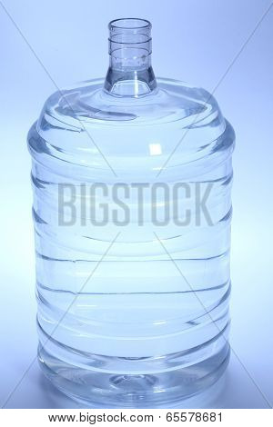 Large Bottle Of Purified Drinking Water