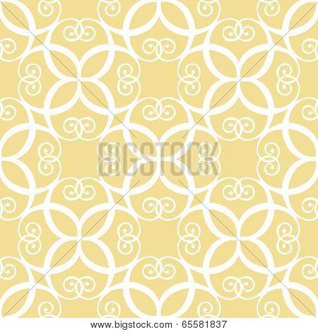 Seamless yellow pattern
