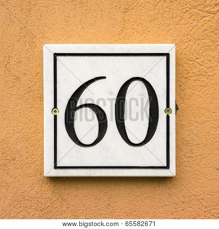 Number 60