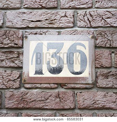 Number 136