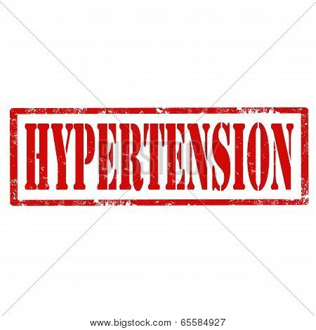 Hypertension-stamp