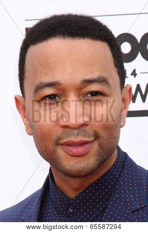 LAS VEGAS - MAY 18:  John Legend at the 2014 Billboard Awards at MGM Grand Garden Arena on May 18, 2014 in Las Vegas, NV