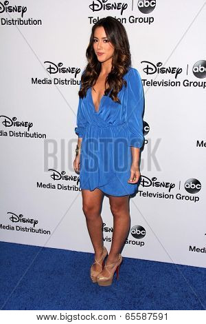 LOS ANGELES - MAY 19:  Chloe Bennet at the Disney Media Networks International Upfronts at Walt Disney Studios on May 19, 2013 in Burbank, CA