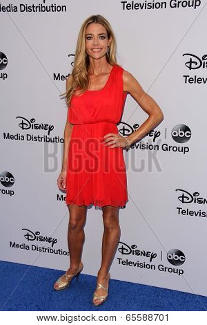 LOS ANGELES - MAY 19:  Denise Richards at the Disney Media Networks International Upfronts at Walt Disney Studios on May 19, 2013 in Burbank, CA