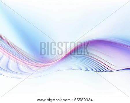 Digital Fractal Waves
