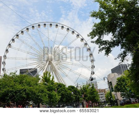 Skyview Ferris Wheel Atlanta, Ga