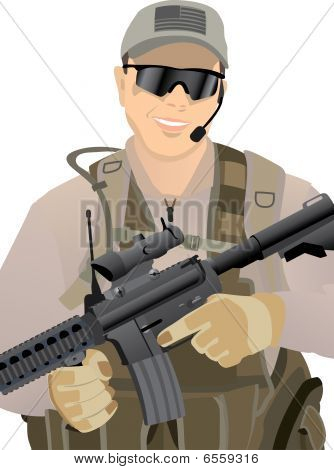 USA Private Military Contractor