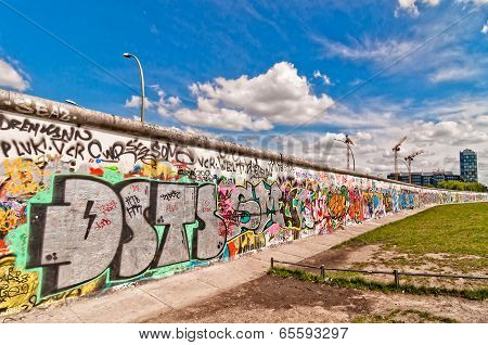 Memorable segment of the Wall, Berlin