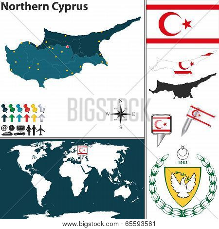 Map Of Northern Cyprus