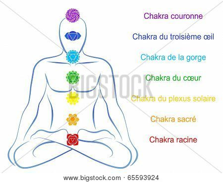 Chakras Man Description French