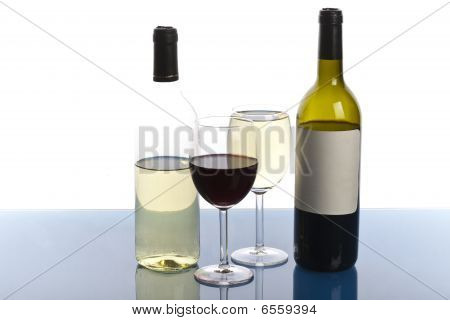 Bottles of wine