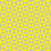 image of hourglass figure  - bright yellow and grey triangles arranged together - JPG