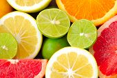 stock photo of pamelo  - Citrus fresh fruits - JPG
