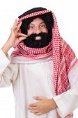 image of hirsutes  - Arab man in diversity concept - JPG