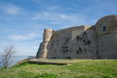 picture of promontory  - The Aragonese Castle stands on the promontory called  - JPG