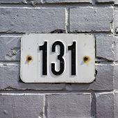 Постер, плакат: Number 131