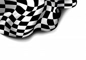 stock photo of designated driver  - checkered race flag - JPG