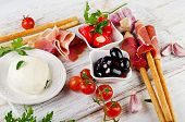 picture of antipasto  - italian appetizer  - JPG