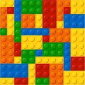 pic of brick block  - Colorful plastic blocks - JPG