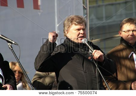 Politician Sergei Mitrokhin