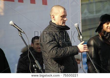 Politician Sergei Udaltsov