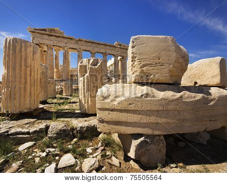 Parthenon temple, Athens,Greece
