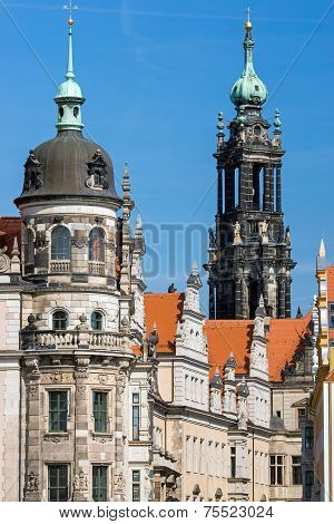 Towers in Dresden