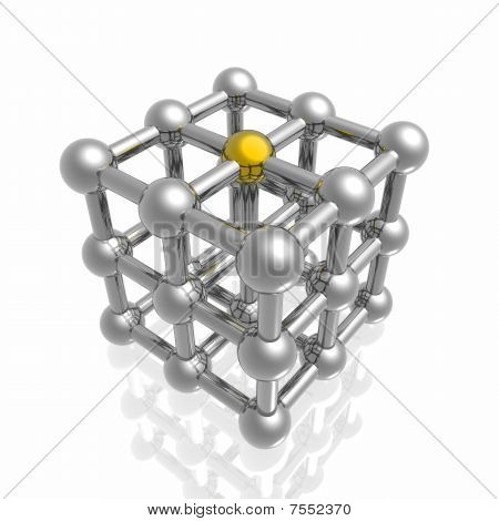 Render Of Molecular Structure