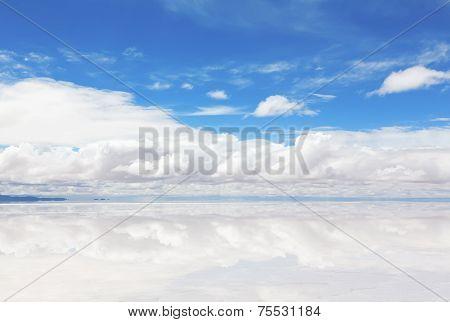 Lake Salar de Uyuni