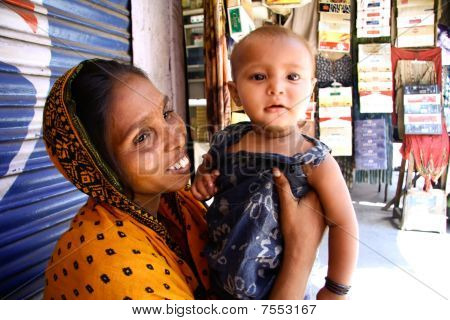 Woman Beggar