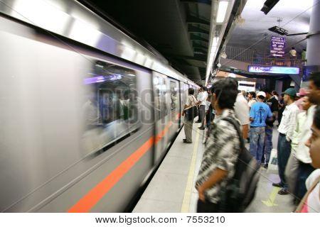 Delhi Metro Passengers