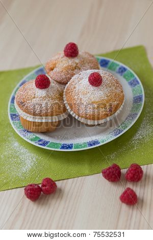 Rasberry Muffin