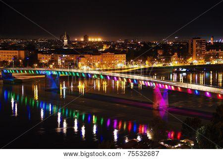 Novi Sad by night