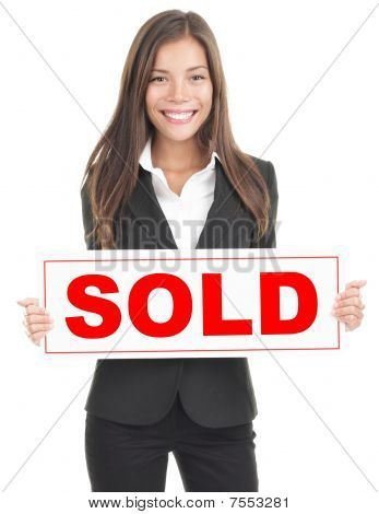 Real Estate Agent Sign
