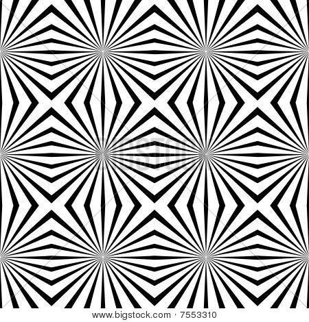 Vector geometric illusions background