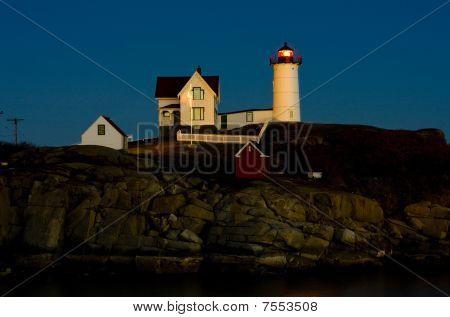 Nubble Lighthouse Cape