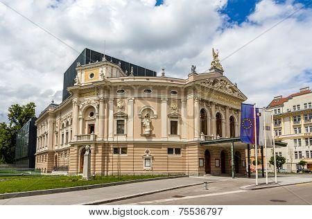 Opera And Ballet Theatre Of Ljubljana, Slovenia