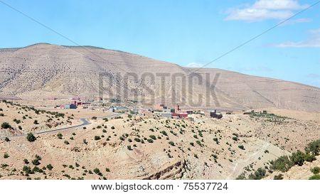 Atlas Mountains Landscape, Morocco