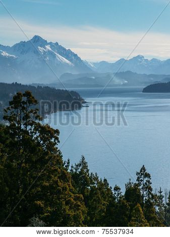 Lake And Mountain Views From Bariloche