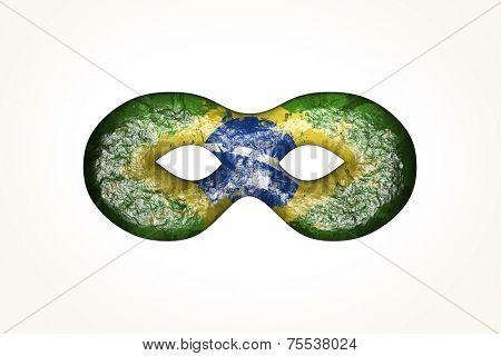 Brazilian Carnival Mask