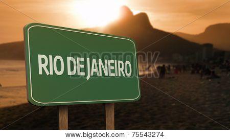 Amazing Rio de Janeiro Sign (Brazil)