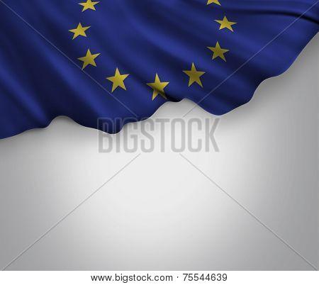 Amazing Flag of European Union