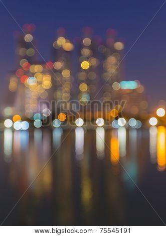 bangkok cityscape river