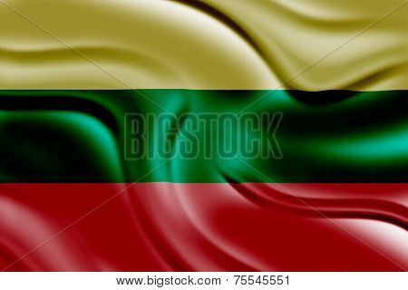 Amazing Flag of Lithuania