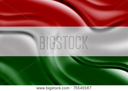 Amazing Flag of Hungary