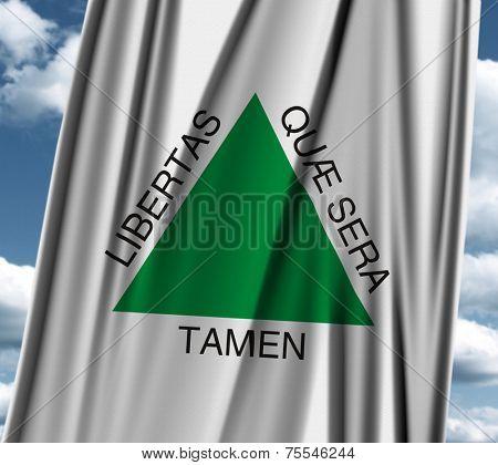 Flag os the state of Minas Gerais, Brazil
