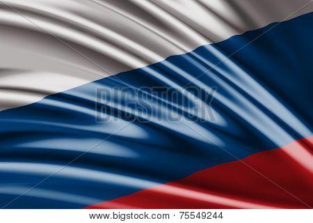 Amazing flag of Russia