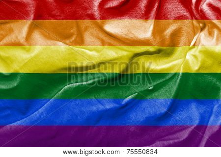 Amazing LGBT Flag - lesbian, gay, bisexual, and transgender
