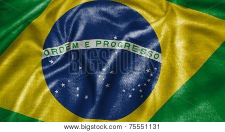 Amazing Flag of Brazil, Latin America